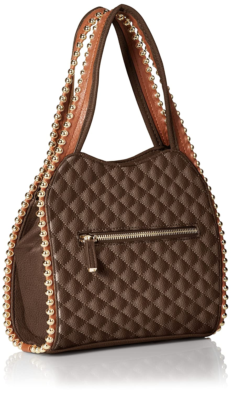 BIG BUDDHA Glorie Satchel Bag, Coffee, One Size: Handbags: Amazon.com