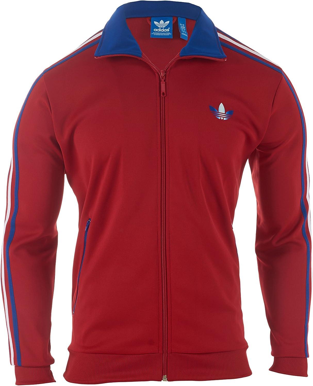 adidas Firebird - Chaqueta de chándal para Hombre, (Rojo, Azul ...