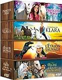 Cheval Coffret 4 DVD : Princess and Pony + Le cheval de Klara + L'étalon sauvage + Le cheval de St Nicolas