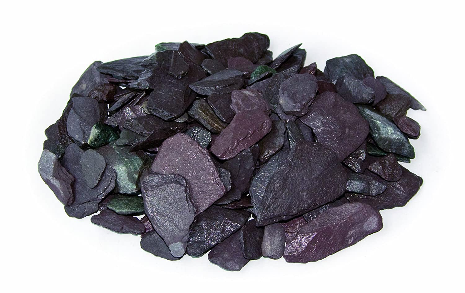 Bowland Stone Plum Slate Chippings Large Pack 20 Bag Pallet Deal