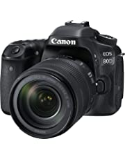 Canon EOS 80D Super Kit with EFS 18-135mm f 3.5-5.6 IS USM Digital Camera - SLR(80DSK) 3Inch Display,Black (Australian warranty)