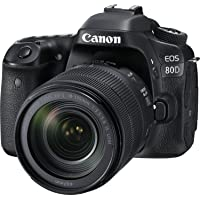 Refurb Canon EOS 80D 24.2MP FHD DSLR Camera w/18-135mm Lens