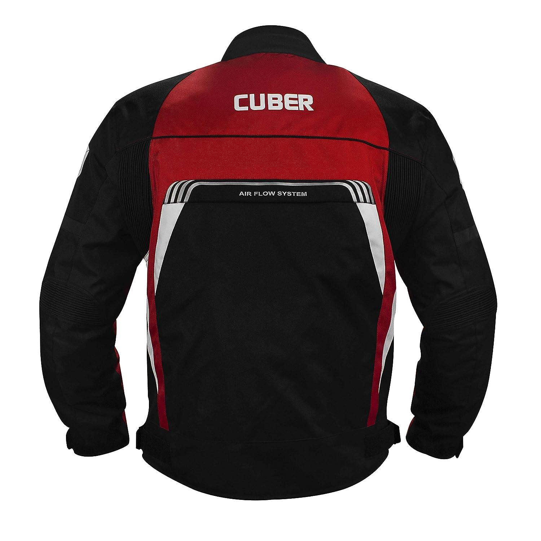 Cuber Motorcycle Jacket For Men Textile Motorbike Jacket Cordura Racing Biker Riding CE Armored Waterproof All-Weather