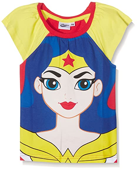 DC Super Hero Girls DCHE27101, Camiseta de Pijama Para Niñas: Amazon.es: Ropa y accesorios