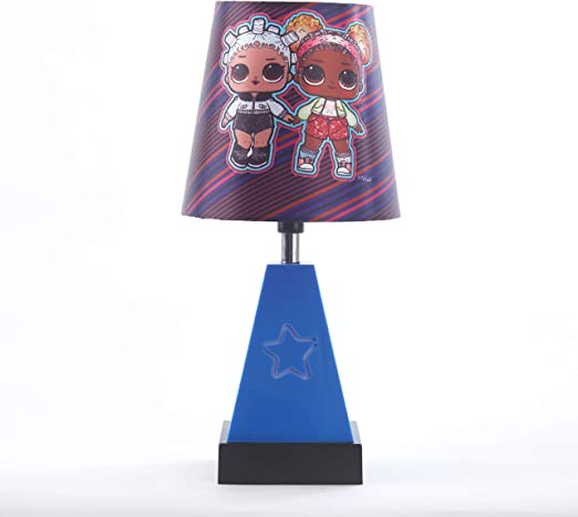 Pink LOL Surprise Stick Table Lamp
