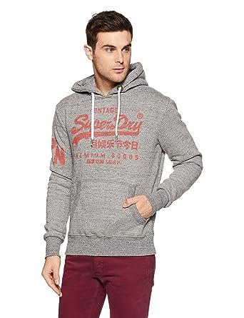 55cca6a70b1c82 Superdry Herren Pullover Premium Goods Hood  Amazon.de  Bekleidung