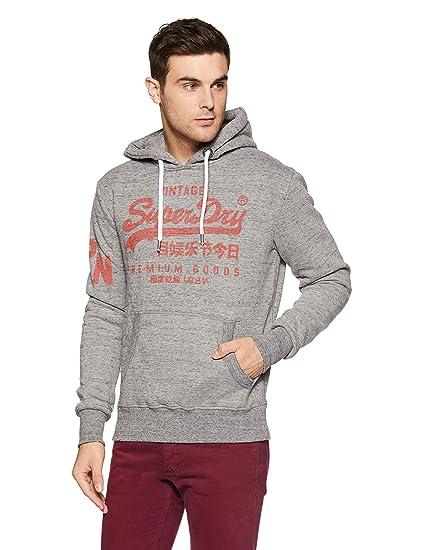 Superdry Herren Premium Goods Hood Pullover