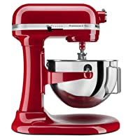 Deals on Kitchenaid KV25G0XER 450 Watt 5qt Stand Mixer with Bowl