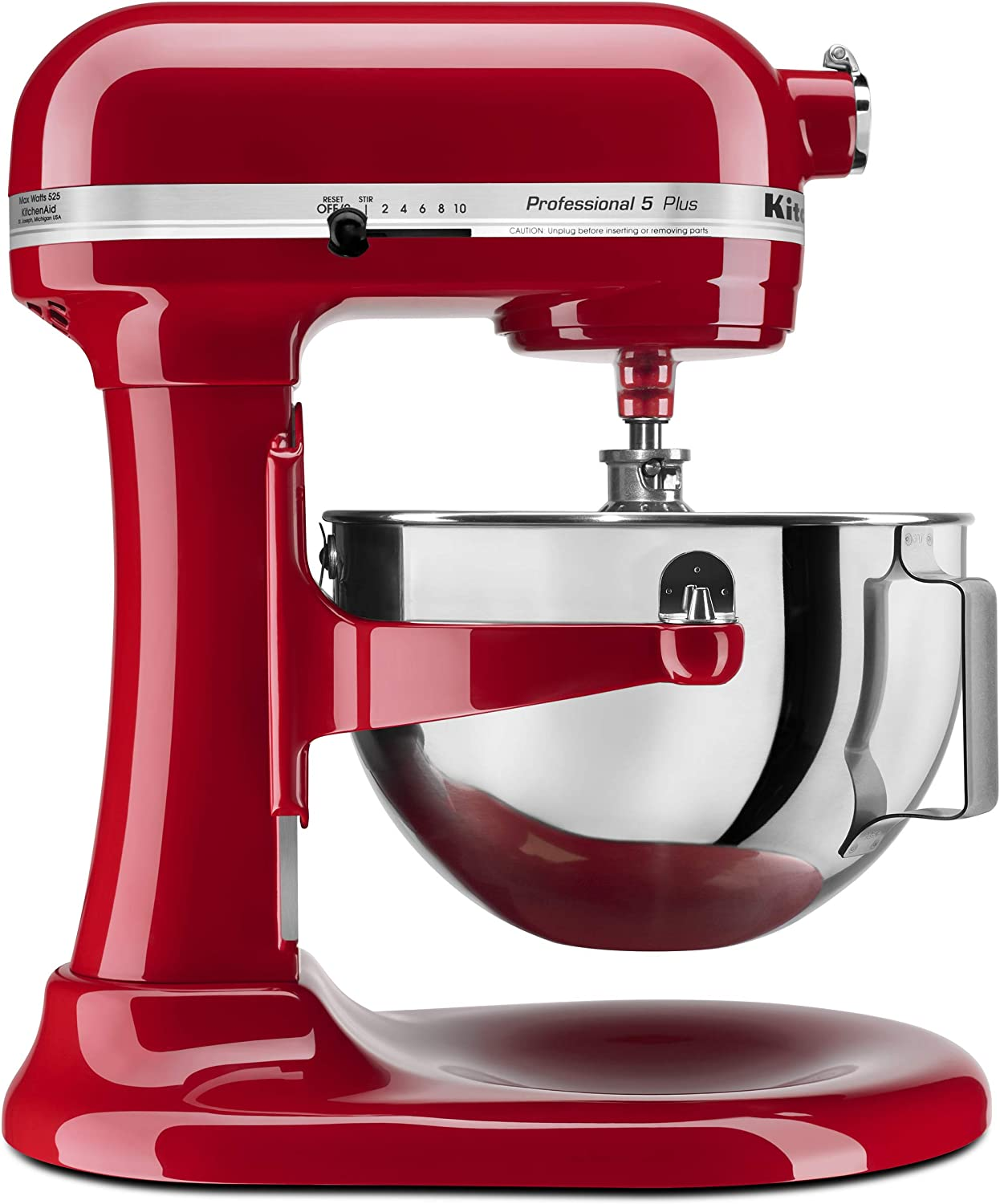 Amazon Com Kitchenaid Professional 5 Plus Series Stand Mixers Empire Red Electric Stand Mixers Kitchen Dining