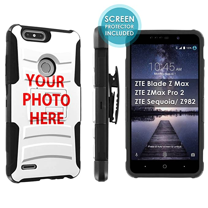 Amazon com: [POPCulture] Custom Rugged Case For ZTE Blade Z