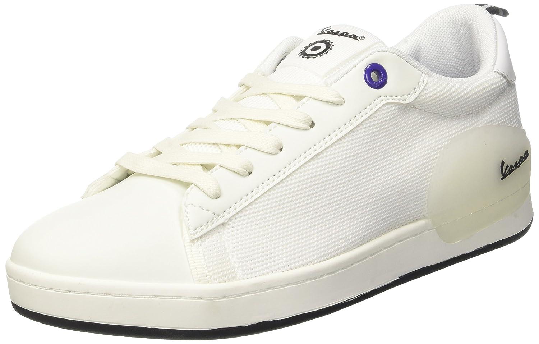 White (Bianco 10) Vespa Unisex Adults' Freccia Trainers