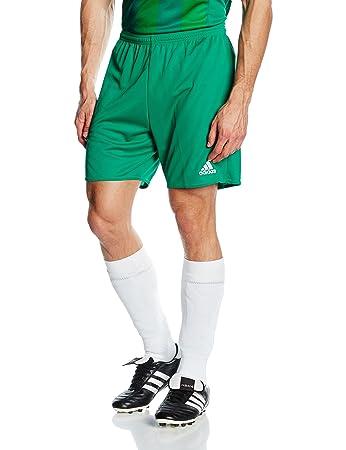 adidas Men's Parma 16 Shorts - Green/White/VERFUE/White, X-