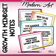 GROWTH MINDSET NOTES for Grades 5-12 (Modern Art)