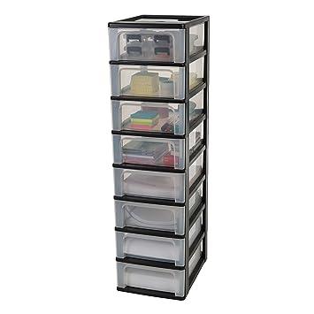 iris ohyama tour de rangement 8 tiroirs organizer chest och 2008 plastique