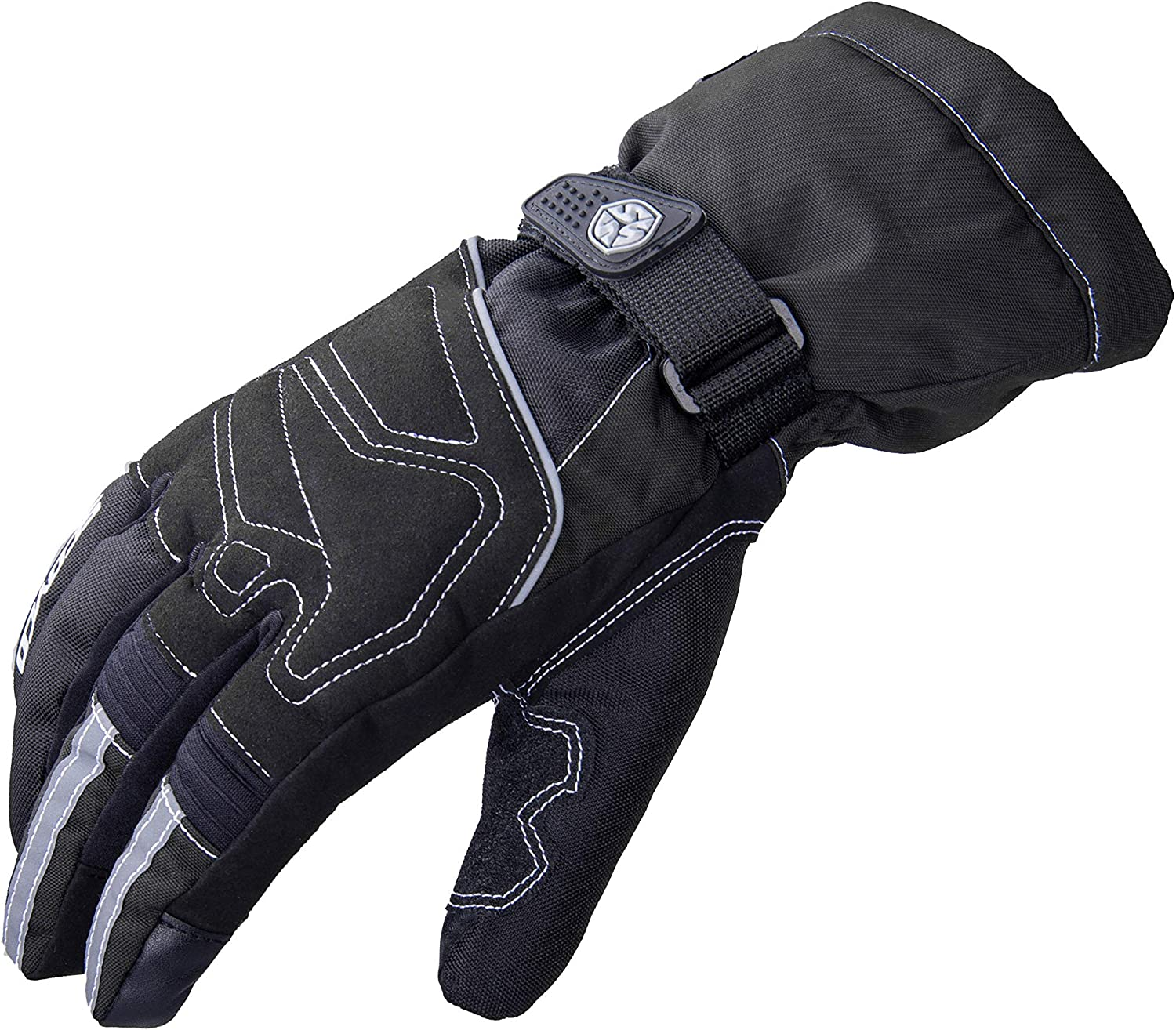 SCOYCO Winter Thermal Motorcycle Gloves for Men and Women Waterproof Touch Screen Warm Motorbike Gloves for Cruiser Touring Commuter Adventure Motorcycle Riding Cycling Camouflage