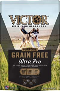 VICTOR Purpose - Grain Free Ultra Pro, Dry Dog Food, 5-Lb Bag