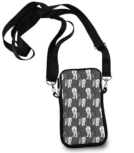 Amazon.com: Pequeña bolsa cruzada para teléfono móvil ...