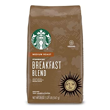 Starbucks Breakfast Blend Coffee For Percolators