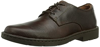 87db044935f4d6 Clarks Stratton Way, Derby Homme, Marron (Brown Leather), 41.5 EU