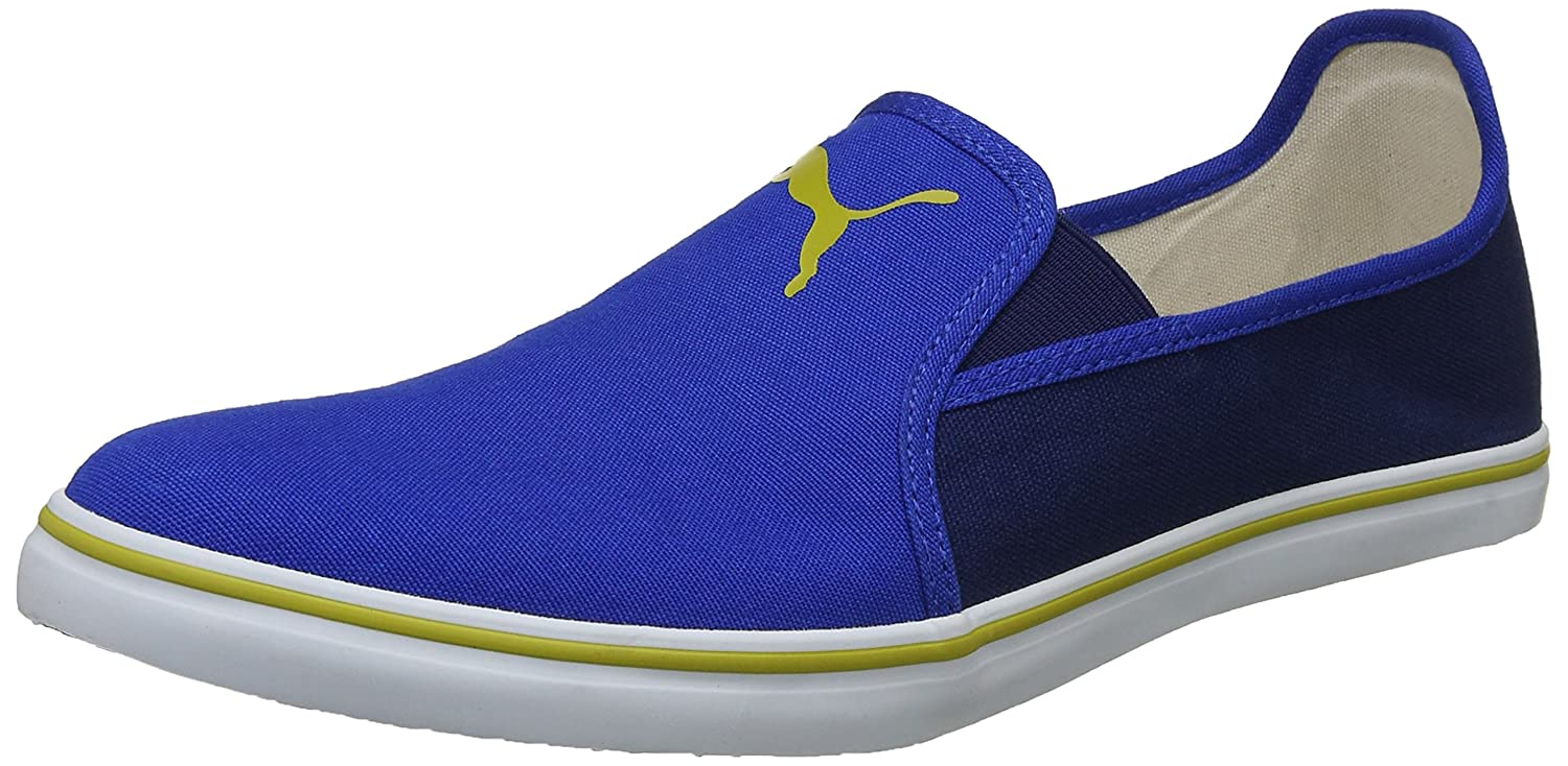 500046ef4b6dbc Puma Men s Gray Slip On NU IDP Sneakers  Buy Online at Low Prices in India  - Amazon.in