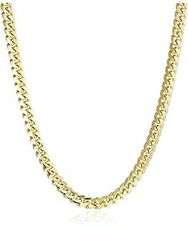 3bdcfe58e2f05 Men's 14k White Gold Figaro Chain Necklace, 26