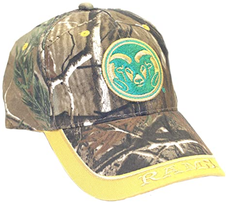 Amazon.com   Realtree NCAA Licensed Colorado State Rams Embroidered ... 8edcf7c881d0