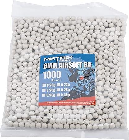AIRSOFT Novritsch 555 rds 0.40g Sniper BBs BIO