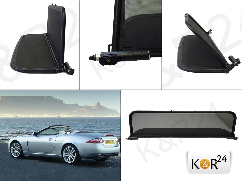 Deflector aire Deflectores de viento Jaguar XK / XKR 2007 - Type 150 WIND BLOCKER calidad alta NUEVO K & R