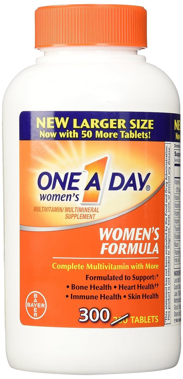 BayerFórmula completo multivitamínico 300 comprimidos de la mujer de uno al día: Amazon.es: Salud y cuidado personal