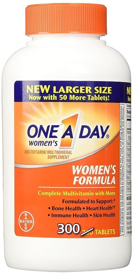 BayerFórmula completo multivitamínico 300 comprimidos de la mujer de uno al día