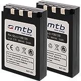 2x Batterie Li-10b/12b pour Olympus C-470 Zoom, C-50 Zoom, C-5000 Zoom, C-60 Zoom...+ voir liste!