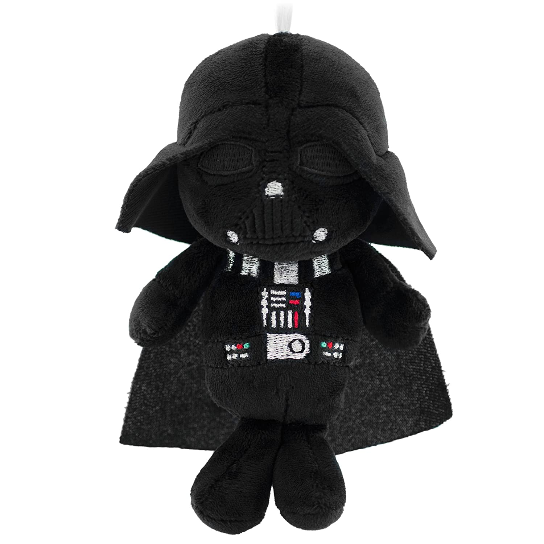 Amazon.com: Hallmark Star Wars Fabric/Plush Darth Vader Ornament ...