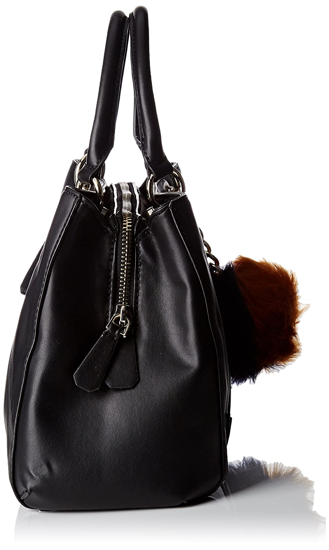 Hwvg6785060, Womens Top-Handle Bag, Nero (Black Multi), 3.5x16x25 cm (W x H L) Guess