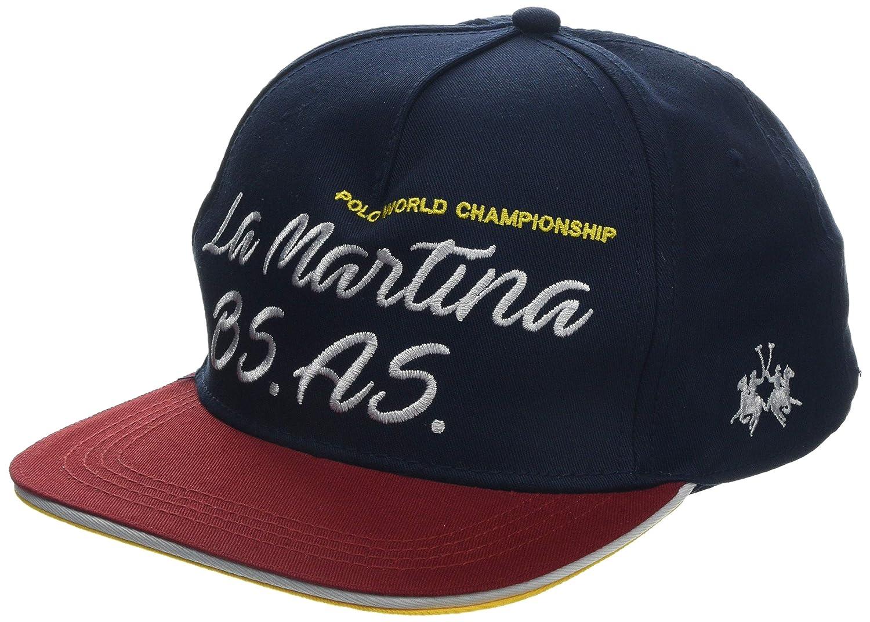 La Martina Hat Twill, Azul (Navy 07017), Talla única para Hombre ...