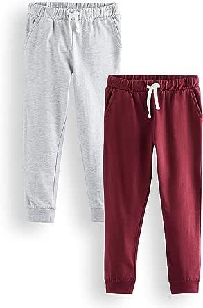 RED WAGON Pantalones de Deporte Niños, Pack de 2
