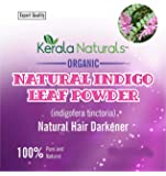 ORGANIC INDIGO POWDER 100% PURE Natural Powder Hair Dye. 100 gm