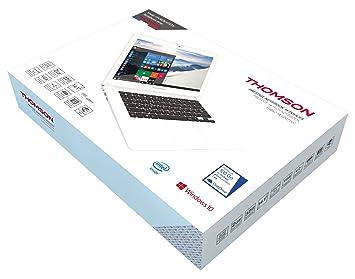 """Thomson Notebook Argent Intel CherryTrail Z8300 Quad Core 1,44GHz 2Go 11,6"""""""