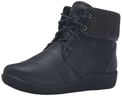 Clarks Online Clarks Sillian Frey Womens Navy Synthetic Nubuck