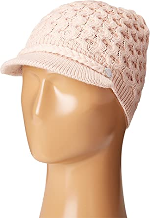 Calvin Klein womens Honeycomb Cable Cabbie Hat Winter Hat - Pink ... bf5145ad42e