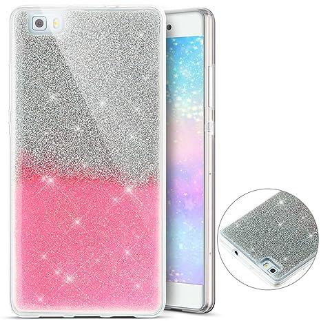 Funda Carcasa de silicona para Huawei P8 Lite, Huawei P8 ...
