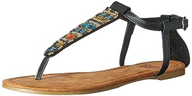 990f5f163b8a8 Mukluks MUK LUKS Women s Monica Beaded Sandals Flat