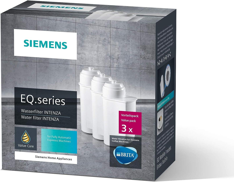 4 filtros de agua para Brita Intenza 1016723 575491 I Siemens EQ Series EQ 6 Siemens TZ70003 TCZ7003 TCZ7033 I Bosch TCZ7003 TCZ-7003 TCZ7033 12008246 467873873 1700 0705 NO para BRITA INTENZA