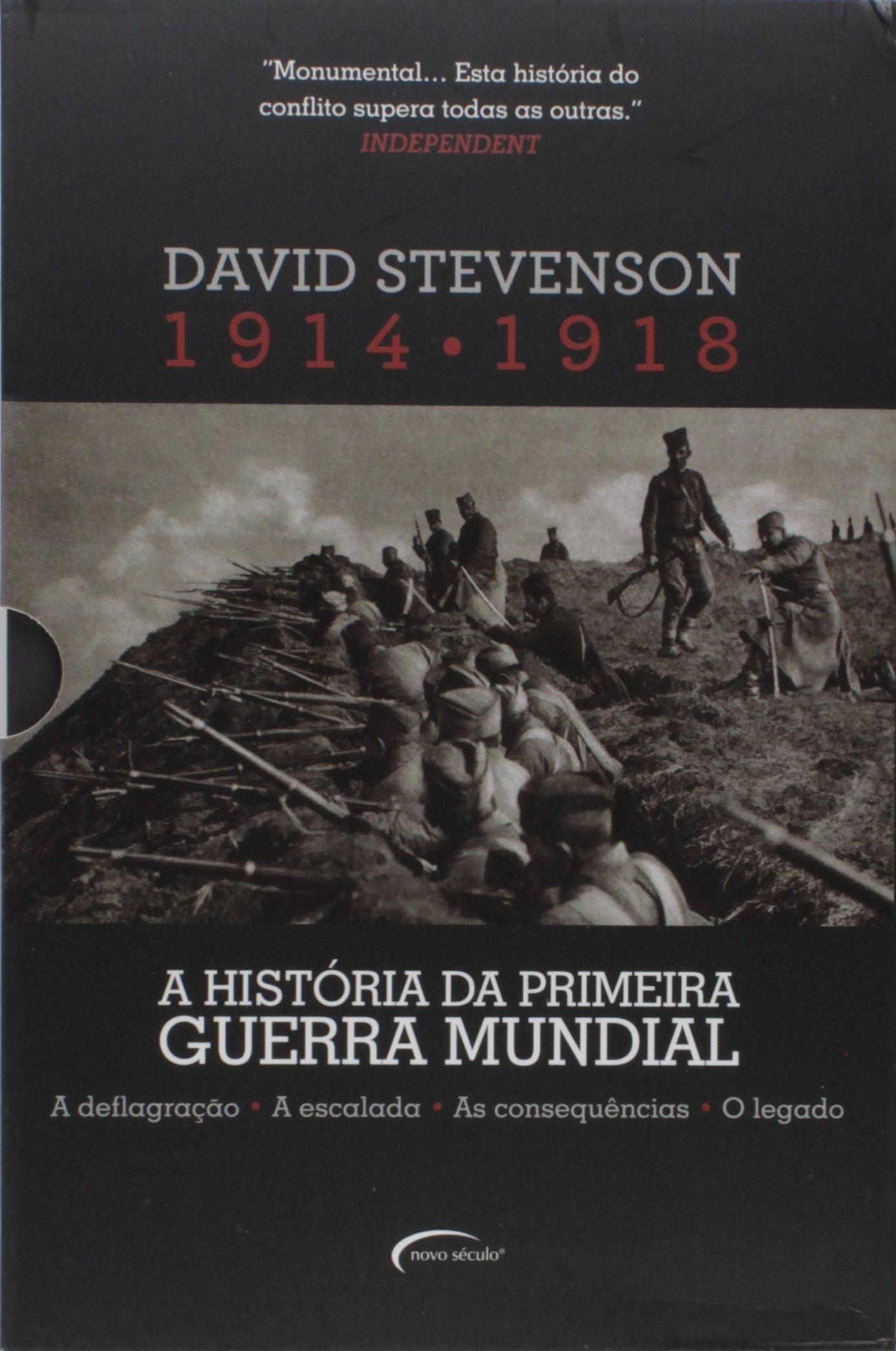 A História da Primeira Guerra Mundial. 1914-1918 - Caixa com ...