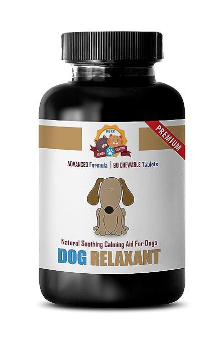 dog calming pills review