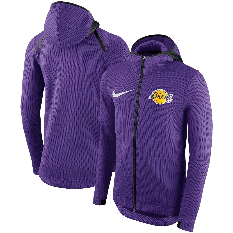 f22dd65d Amazon.com : LA Lakers 2018 Men's Showtime Therma Flex Performance Full-Zip  Hoody - Purple : Sports & Outdoors