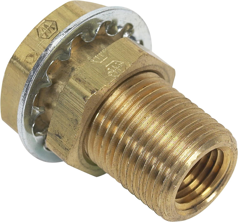 Moeller Brass Fuel Line Hose Barb Female 1//4 NPT 1//4