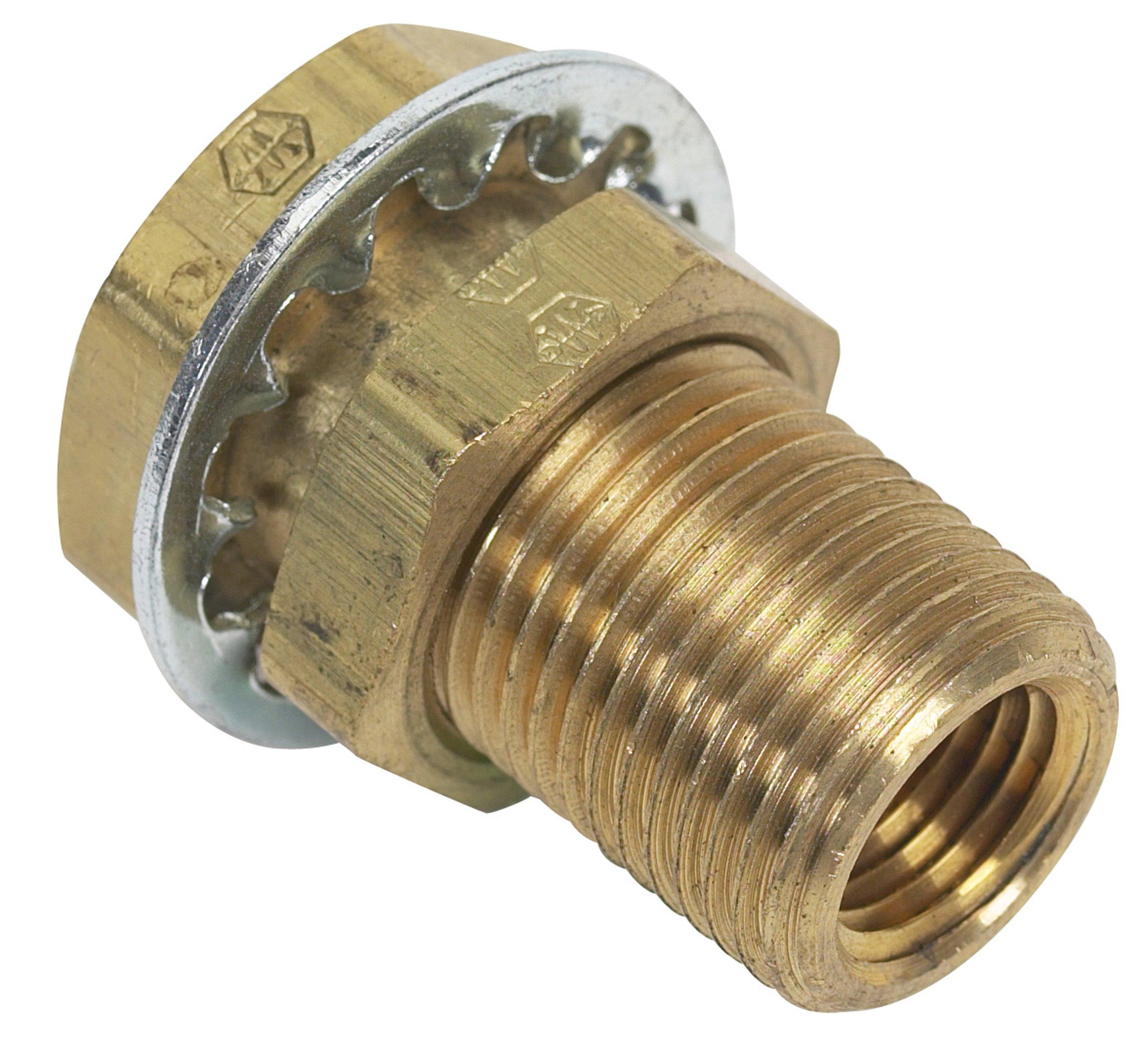 Moeller Brass Fuel Line Hose Barb (Female 1/4'' NPT 1/4'')