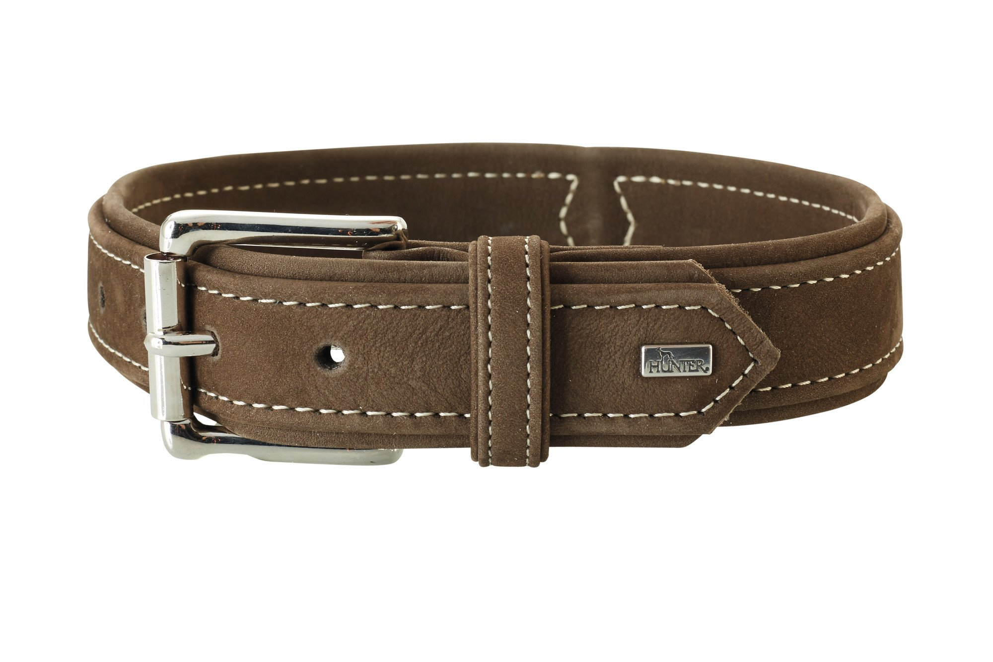 Collar Hunting Brown Leather 22''