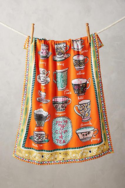 Cuppa Tea Towel - anthropologie.com