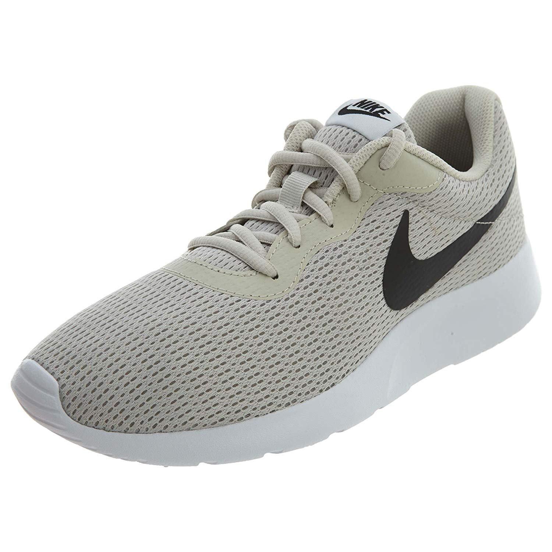 the best attitude ed960 17077 Galleon - Nike Men s Tanjun Running Sneaker Light Bone Black-White 8